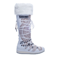 Snoboot Mutant high Tattoo basic white (snowboots)