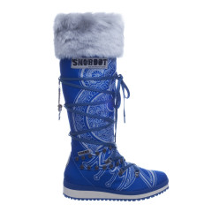 Snoboot Mutant high Tattoo basic blue