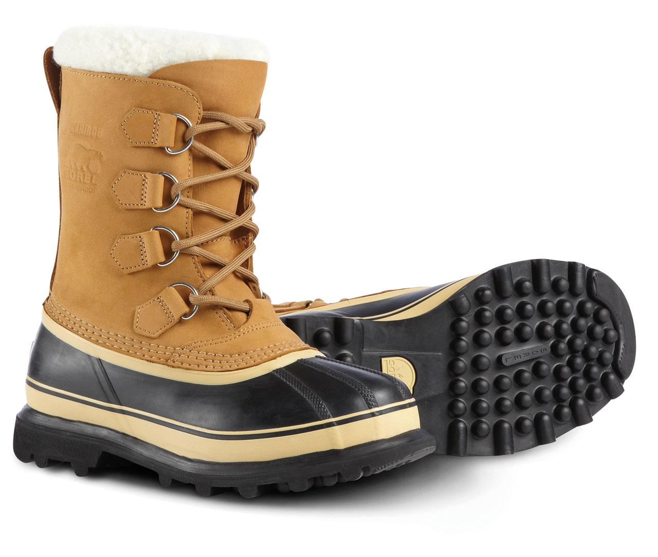 Women's Sorel Caribou Snow Boots Buff 11 | Homewood Mountain Ski ...